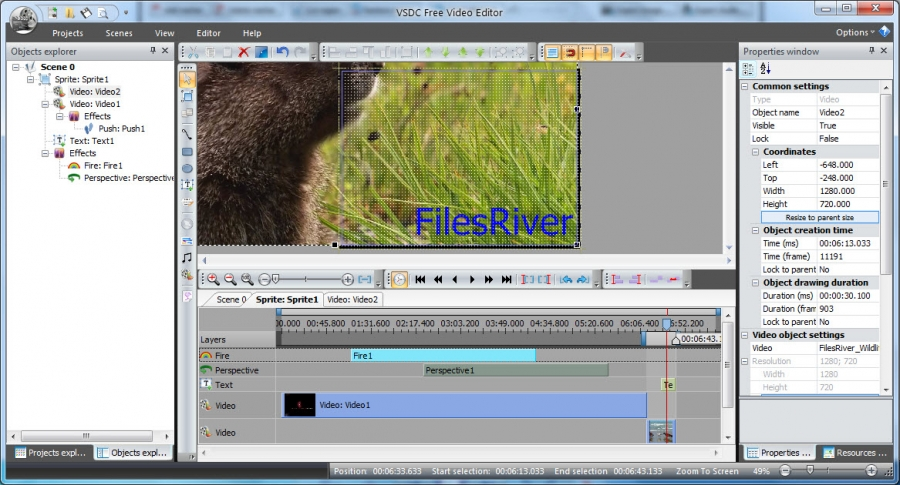 VSDC Video Editor Images and Screenshots