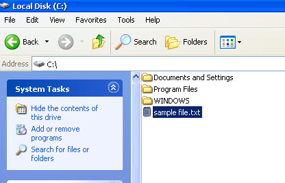 how to make windows show file extensions
