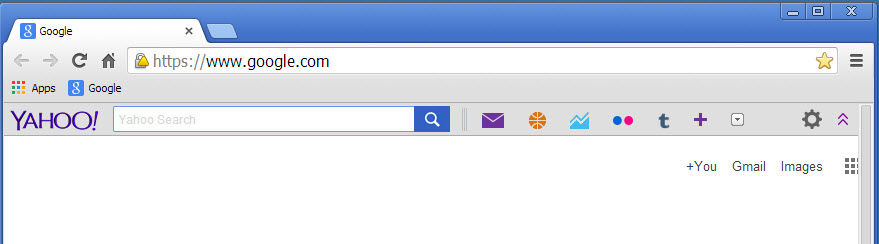 How To Remove/Uninstall Yahoo Toolbar From Chrome