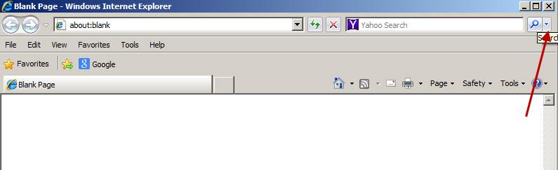 remove yahoo start page