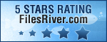 5 stars from FilesRiver.com